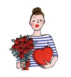 Illustration Mignonne, French Illustration, Paris Illustration, Funny Illustration, Illustrations, Cartoon People, Cartoon Pics, Cute Cartoon, Ww Images