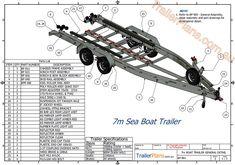 Boat Trailer Plans