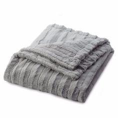Big Minky Blanket - Silver Mink