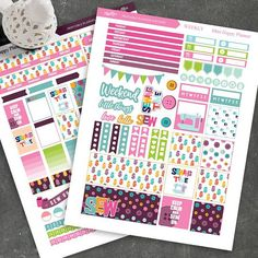Sewing Time Planner Stickers for MINI Happy Planner, Printable Planner stickers, Weekly/Monthly Stickers, Botton stickers, Instant Download  Ive included the Cut Files, JPG, PNG and PDF files with the vector images.  Each JPG image is 8.5 x 11in and 300 dpi.  You reacive: - 2 JPG planner sticker (8.5in x 11in) - 2 PNG (transparent background) - 1 PDF file - 3 Silhouette Studio Cut files   If you like an item in my shop but would prefer to have a different color or style, just send me a m...