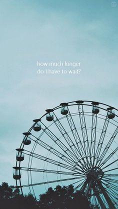 """""""Quanto tempo mais eu tenho que esperar?"""""""