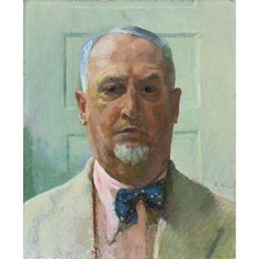 Cuno Amiet - SELF-PORTRAIT, 1935, oil on canvas on MutualArt.com