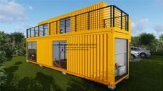 Modular Prefab/Prefabricated Container House.