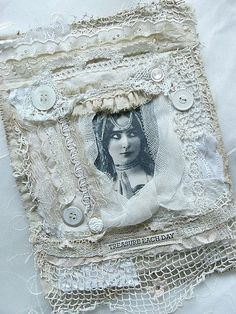 I ❤ victorian . . . fabric collage . . . By saray-viola