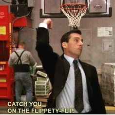 """57 Funny 'the Office' Memes - """"Catch you on the flippety-flip."""" memes michael scott 57 Funny 'the Office' Memes That Any Office Fan Will Love Best Friend Poems, Funny Quotes, Funny Memes, Memes Humor, Funny Office Quotes, Funny Senior Quotes, Best Office Quotes, Hilarious, Humor Humour"""