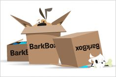 """Barkbox sends your dog treats and toys every month!  Get 10% off Barkbox with """"YOURDOGCHARLIE"""""""