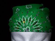 Google Image Result for http://4.bp.blogspot.com/_Z70X35dNZ-A/TL4W79HN2BI/AAAAAAAABY8/6wd8h9x8mY8/s1600/Green_Bandana.jpg