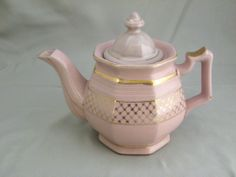 Cute Vintage Pink #Teapot Collectible