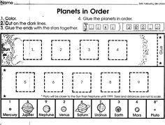 math worksheet : label the solar system worksheet  solar system unit!  homeschool  : Solar System Worksheets For Kindergarten