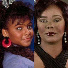 Lark Voorhis...When black celebs become white....
