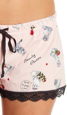 df00e71e0e Hello Kitty Graphic Print Tee   Shorts PJ Set  Print Graphic Kitty ...