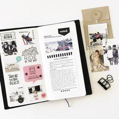 September Traveler's Notebook  by mamaorrelli at Studio Calico