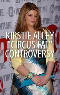 Kirstie Alley has come under fire recently for her comments in a Jenny ...