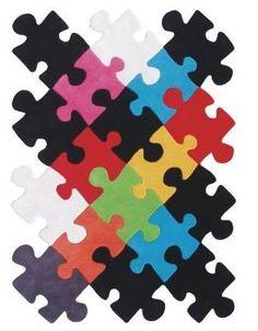Decorar con piezas de puzzle decoraci n pinterest - Alfombras contemporaneas ...