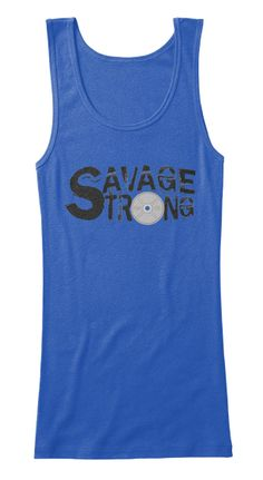 Bella + Canvas Women's Fitted workout Tank https://teespring.com/stores/savage-strong