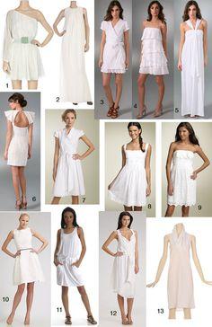 White for summer 2012
