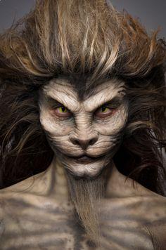 face off makeups season 4 | Rayce & Ian's Wonderful Wizard of Oz-inspired Lion