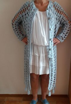 Ravelry: Long Pineapple Coat/Duster by emmhouse