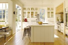 40 Inspiring Kitchen Designs | California Home + Design - I like the layout of this kitchen.