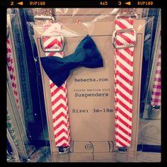 bebecha - tie & suspender sets