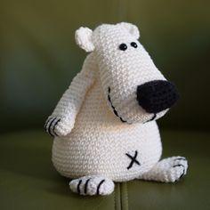 #crochet #haken #häkeln #Haroldijsbeer #woolytoons #amigurumi #stylecraftspecialdk #cataniaoriginals #schachenmayr #hobby #handmade #ijsbeer