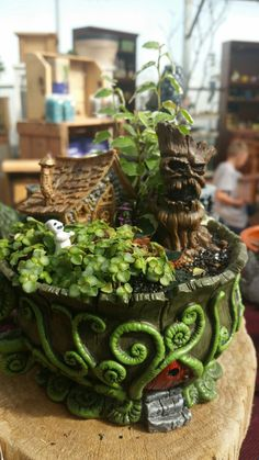 Spooky fairy plant
