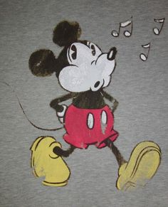 mickey mouse is certainly retro