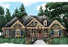 Magnolia Springs - Home Plans and House Plans by Frank Betz Associates