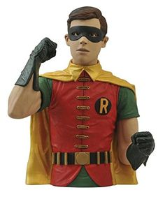 Diamond Select Toys Batman Classic 1966 TV Series: Robin Vinyl Bust Bank: $24.08 End Date: Sunday May-6-2018 22:00:55 PDT Buy It Now for…