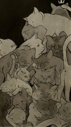 Cats & More Cats Art Print