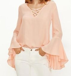 Best 12 Shop Women's Shein Pink Orange size XS Blouses at a discounted price at Poshmark. Description: Sweet and flowy peach top