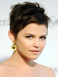 Pixie cut - Ginnifer Goodwin.