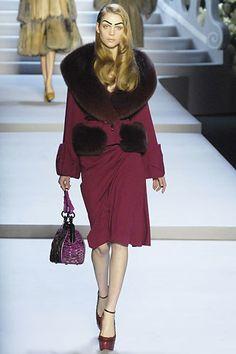 Christian Dior Fall 2007 Ready-to-Wear Fashion Show - Kim Noorda