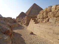 Pyramide des Cheops im Jahr 2016