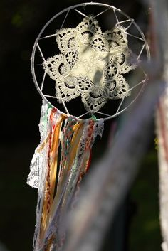 Dreamcatchers at a Glamping Party #glamping #party