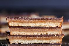Homemade Twix Bars (