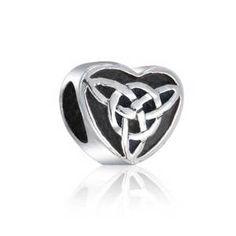 Pandora Triquetra Celtic Knot Charm