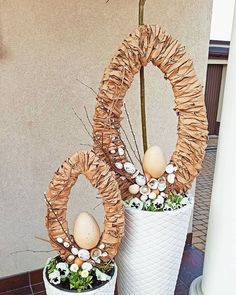 Deco Floral, Spring Is Coming, Creative Crafts, Easter Crafts, Grapevine Wreath, Seasonal Decor, Happy Easter, Diy, Wreaths