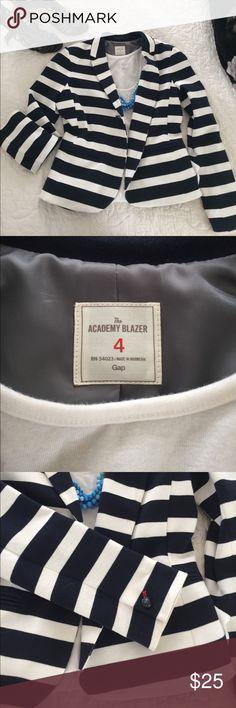 GAP Striped Academy Blazer Striped Blazer by GAP GAP Jackets & Coats Blazers