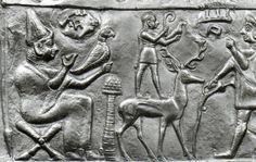 Hittite, silver Rhyton, Private collections, The Metropolitan Museum of Art (Ekrem Akurgal)   (Erdinç Bakla archive) Detail