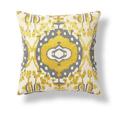 Throw Pillow Color Combinations : Two Navy Blue Light Blue Olive Green Yellow Gold White Pillow Covers Suzani 18 inch Toss Throw ...