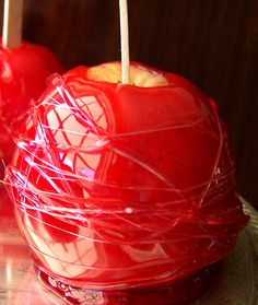 HomeSpunThreads: Candy Apples for Beginners