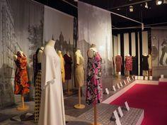 "Pret a porter - Decades of fashion design - Palau Robert, Barcelona, Use ""fashion through the decades"" for Jensons anniversary window. Fashion Through The Decades, Sunnies, Barcelona, Anniversary, Window, Fashion Design, Inspiration, Shopping, Events"
