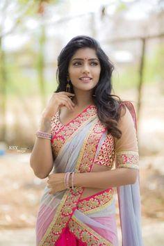 Pretty salwar and jhumkas. Beautiful Girl Indian, Most Beautiful Indian Actress, Beautiful Saree, Beautiful Actresses, Simply Beautiful, Beautiful Women, Beauty Full Girl, Beauty Women, India Beauty