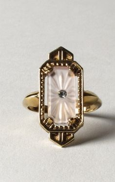 Vintage art deco ring.