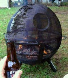 Death Star Fire Pit ~ 28 Cool Things Only a Guy Would Understand