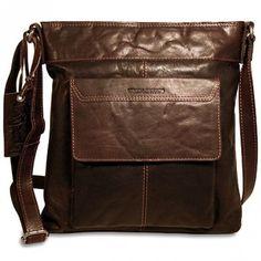 Jack Georges Spikes & Sparrow Crossbody Bag