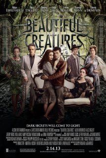 Beautiful Creatures (2013) starring Alice Englert, Jeremy Irons. Watched September 2013, blu-ray.