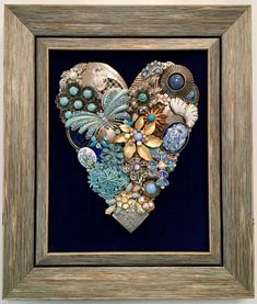 A personal favorite from my Etsy shop https://www.etsy.com/listing/501425063/beautiful-vintage-jewelry-framed-art