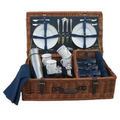 Ascot 4 Person Fitted Picnic Basket